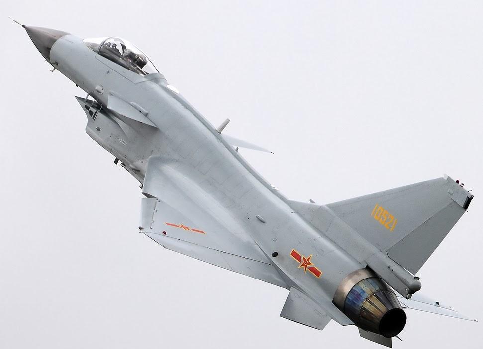 IMAGENS: J-10A e B em voo | Cavok Brasil - Notícias de ...