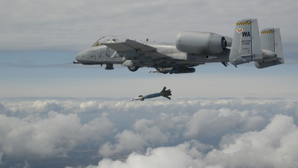A-10 bombing