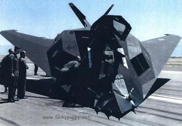 Enquanto o F-117 era secreto, seus pilotos só voavam a noite. Isso acarretava em prejuízo no treinamento. Após um acidente a USAF resolveu tornar pública a identidade do avião, mas a real razão foi de que os soviéticos já sabiam de sua existência.