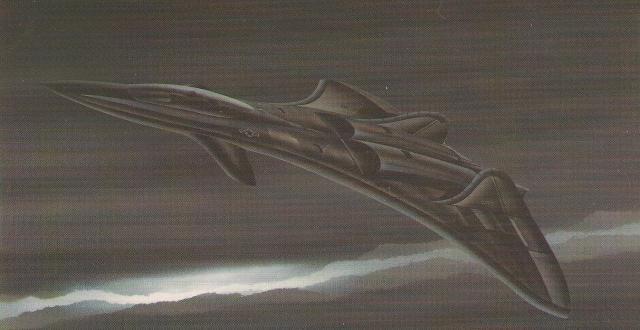 F 19 3 - GUERRA FRIA: Como o mundo imaginava o F-117