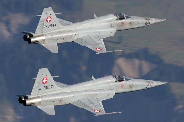 Northrop F-5E Tiger II - Swiss Air Force