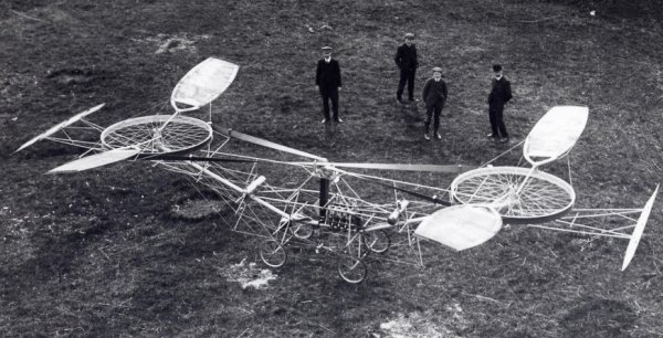 Paul Cornu's helicopter of 1907 (1)