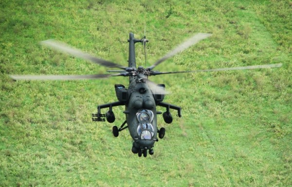 Helicóptero de combate Mi-35M. (Foto: ITAR-TASS/Tina Shaposhnikova )