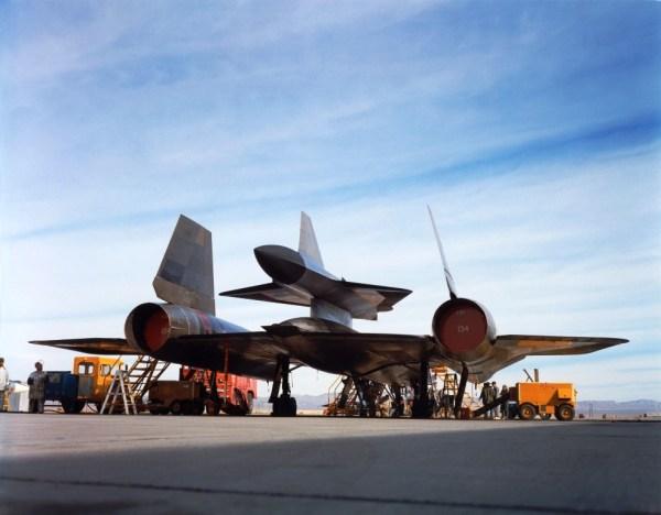 Conjunto M-21 - D-21, em 22 de dezembro de 1964, antes do voo inaugural - Lockheed Martin