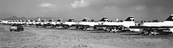 D-21, Base Aérea de Davis-Monthan, em Tucson, no Arizona - Tony Landis Collection