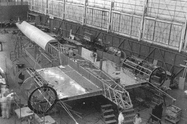 modelo em escala real do A-12 para testes de validação do RCS - Lockheed Martin (1)