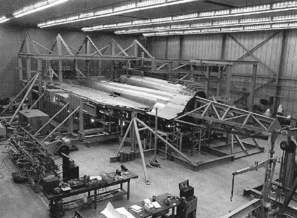 modelo em escala real do A-12 para testes de validação do RCS - Lockheed Martin (3)