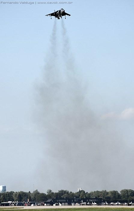 A decolagem vertical era ensurdecedora. (Foto: Fernando Valduga / Cavok Brasil)