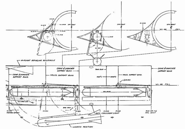 Desenho esquemático do Bombardeiro FB-12-4 Blackbird – Lockheed Martin (1)