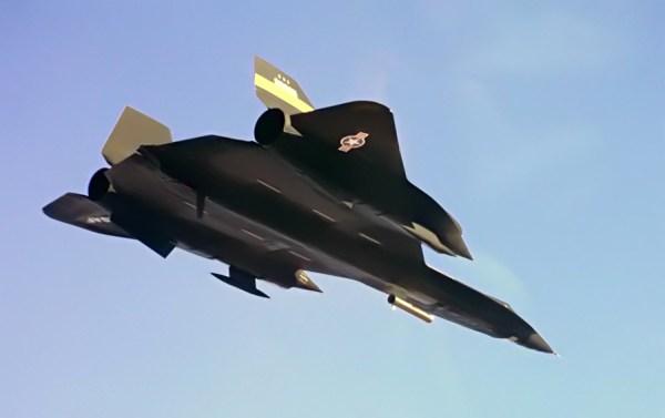 Lockheed YF-12A, Artigo 1002 (60-6935), em 1975 – experimento com o Cold Wall - NASA Dryden Flight Research Center