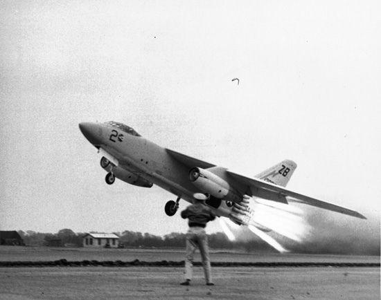 Douglas A3D-2 Skywarrior em 1958