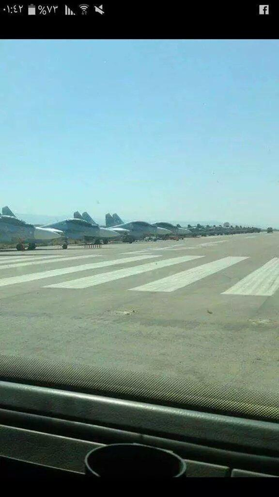 Aeronaves russas na Síria (2)