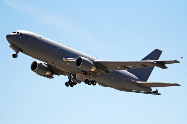 N461FT 4 Boeing 767-2C(2LK)-KC-46A Boeing Aircraft Co (USAF) PAE 29JUL15, by Ken Fielding