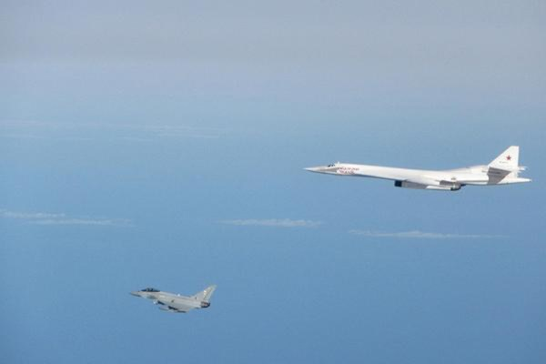 RAF Typhoons intercept Russian Tu-160 bomber near UK airspace 2