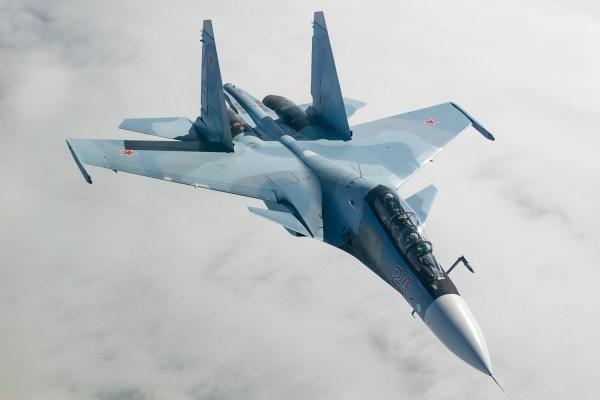 Sukhoi_Su-30SM_by_Alex Beltyukov