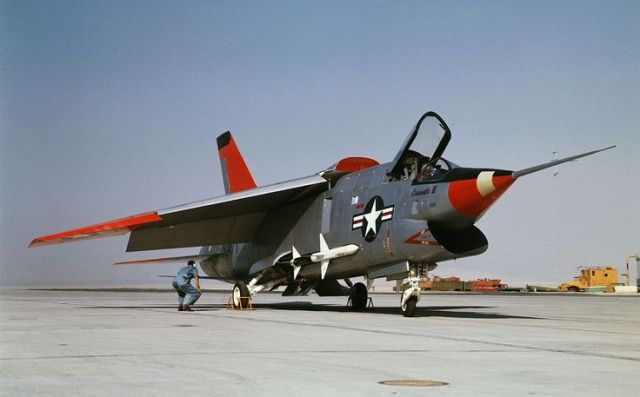 XF8U-3 Crusader III #1