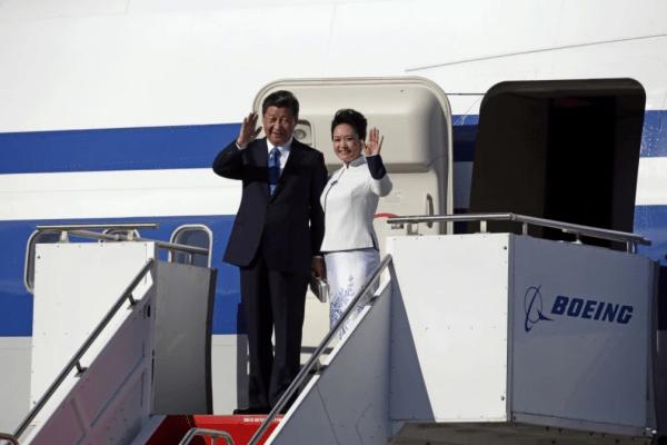 Xi Jiping Boeing