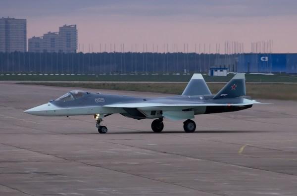Sukhoi T-50-5 PAK FA, by Michael Polyakov