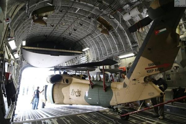 No total a Jordânia encomendou 8 helicópteros Blackhawk. (Foto: US Embassy)