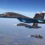 VÍDEO: Rússia emprega mísseis ar-ar no Su-34 pela primeira vez desde o início da campanha militar na Síria
