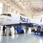 Embraer entrega à Azul jato 1.200 da família de E-Jets