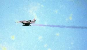 A-4 atingido