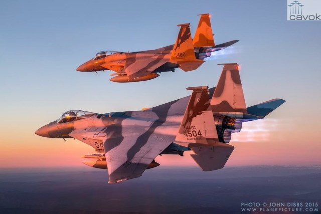 McDonnell Douglas F-15C Eagle, Foto - John Dibbs (5)