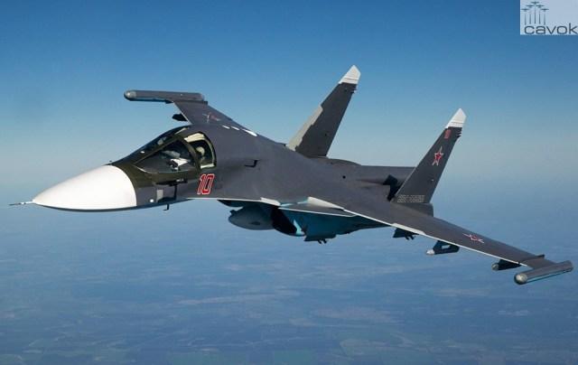 Sukhoi Su-34 - VKS, by White