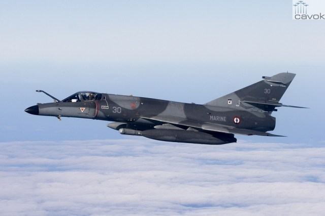 Super Étendard (SEM) - Marine Nationale, Foto - Chris Lofting