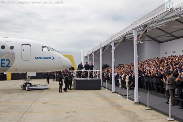 Apresentação do E190-E2, Foto - Marcos Junglas - Cavok Brasil (18)