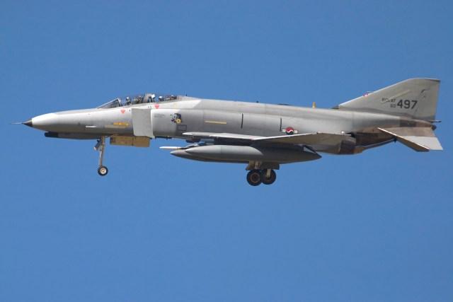 Os Phantoms receberam uma pintura cinza, própria para a função de superioridade aérea, hoje empregada na maioria dos caças.