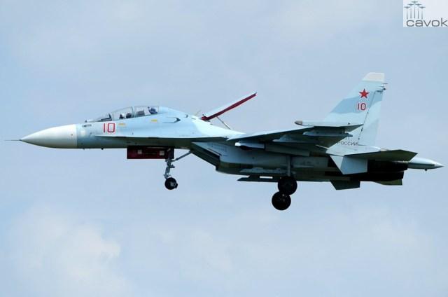 Su-30M2 - VKS, Foto - Toshi Aoki