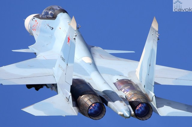Su-30SM – VKS, Foto - Artyom Anikeev (2)