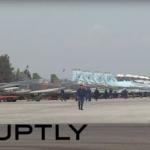 VÍDEO: Confirmação visual da chegada dos Su-35S russos à Síria