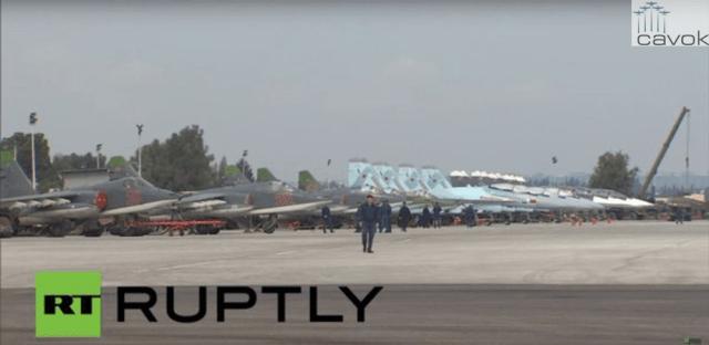Su-35S em Latakia 1