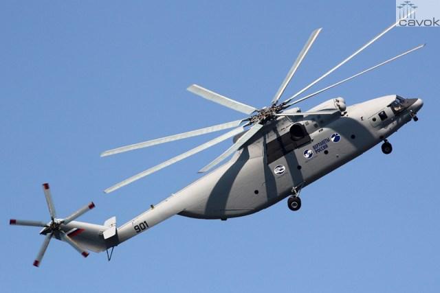 Rostvertol Mi-26T2, Foto - Kirill Naumenko
