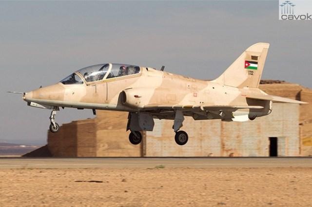 Royal Jordan Air Force BAe Hawk (2)