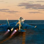 VÍDEO: Operações de voo no porta-aviões russo Admiral Kuznetsov