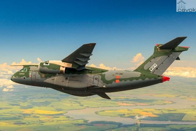 Embraer KC-390 / © Bruno Batista, em caráter ilustrativo
