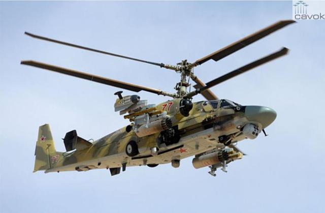 Ka-52 - VKS, Síria, Foto - Mikhail Voskresenskiy