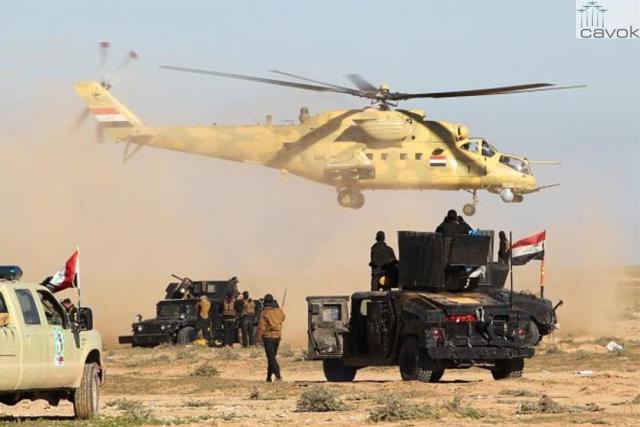 Mi-35M - Exército do Iraque (2)