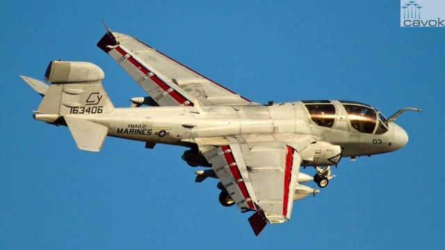Northrop Grumman EA-6B Prowler_Adam Fritzler