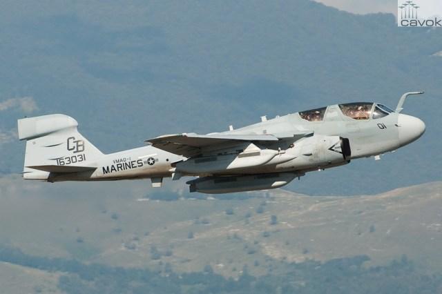 Northrop Grumman EA-6B Prowler_Marco Papa
