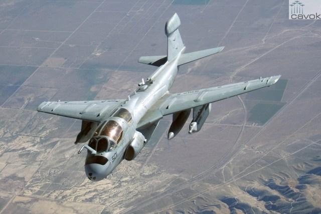 Northrop Grumman EA-6B Prowler_Robert M Rossman