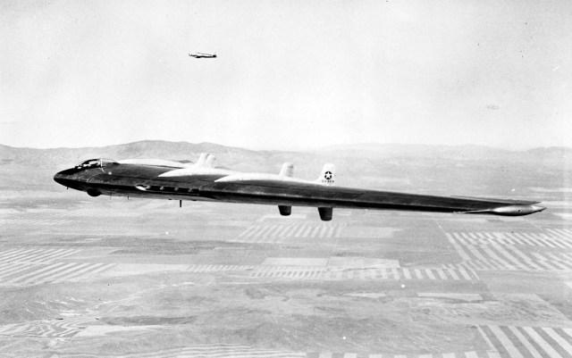 Northrop XB-49 (S/N 42-102367) (a.k.a YB-49 No. 1). (U.S. Air Force photo)