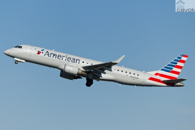 Embraer 190AR (ERJ-190-100IGW) - American Airlines