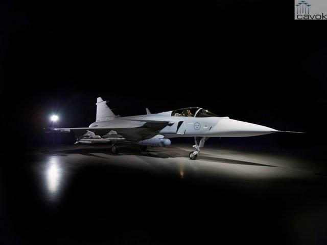 Primeiro protótipo do Saab JAS 39E Gripen (39-8) (6)