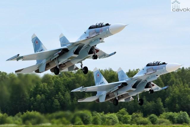 Su-30SM – VKS, Foto - Maxim Stankevich