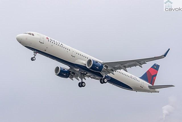 primeiro A321 da Delta
