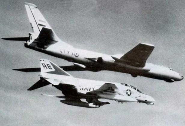 "tu16 05 - Bombardeiros do pós-guerra: Tupolev Tu-16 ""Badger"""